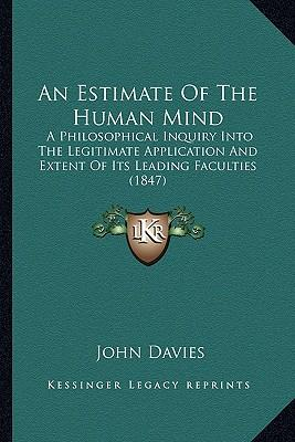 An Estimate of the Human Mind