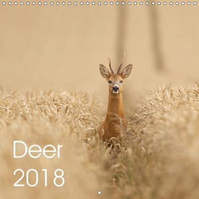 Deer 2018 (Wall Calendar 2018 300 × 300 mm Square)
