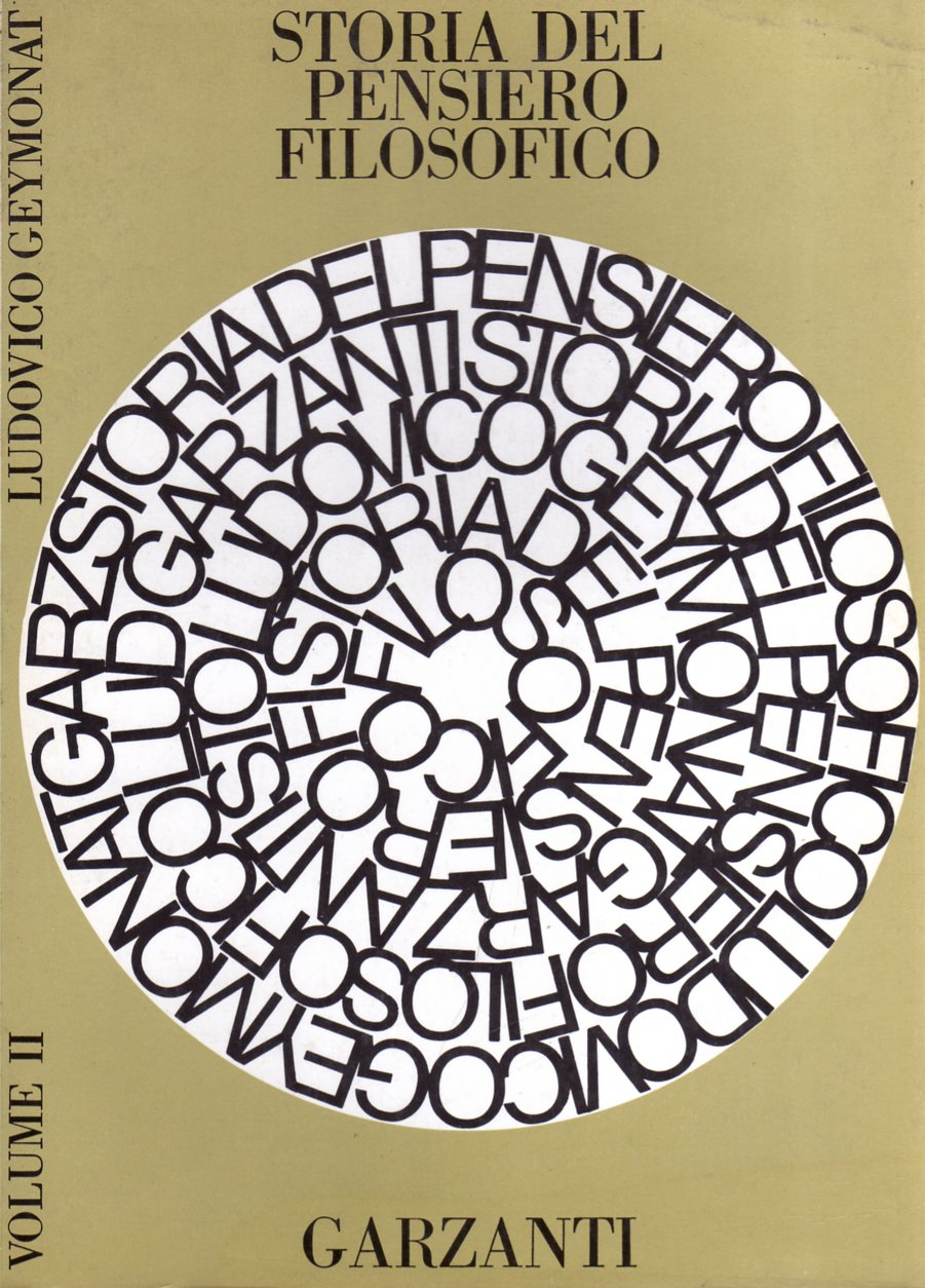 Storia del pensiero filosofico - Vol. II