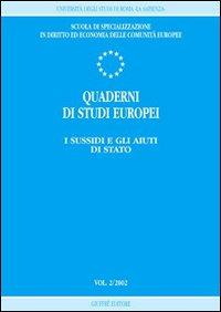 Quaderni di studi europei (2002)