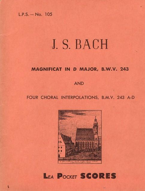 Magnificat in re maggiore, BWV 243