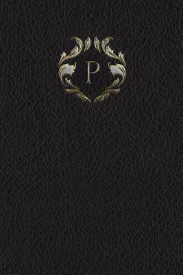 Monogram P Notebook