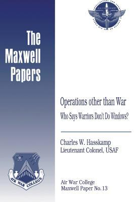 Operations Other Than War