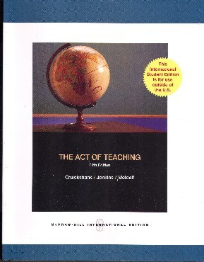 The Act of Teaching