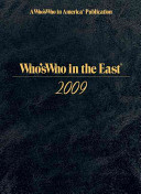 Who's Who in the East 2009