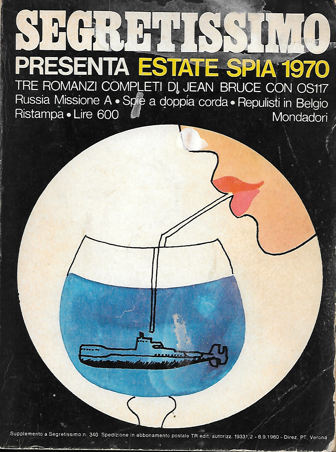 Segretissimo Estate spia 1970