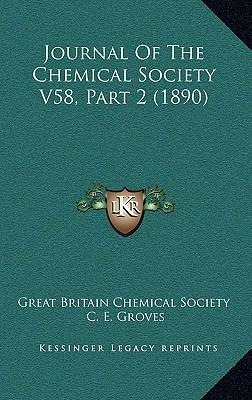 Journal of the Chemical Society V58, Part 2 (1890)