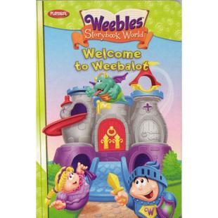 Weebles Goldilocks' Weebly Wobbly Adventure