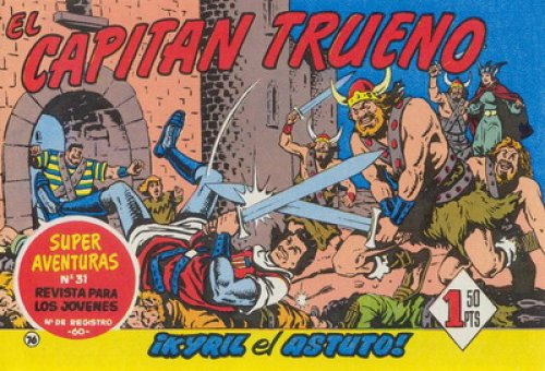 El Capitán Trueno #76