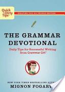 The Grammar Devotion...