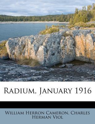 Radium, January 1916