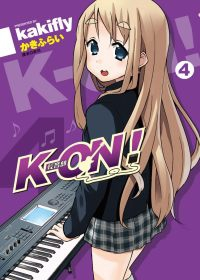 K-ON! 輕音部 4完