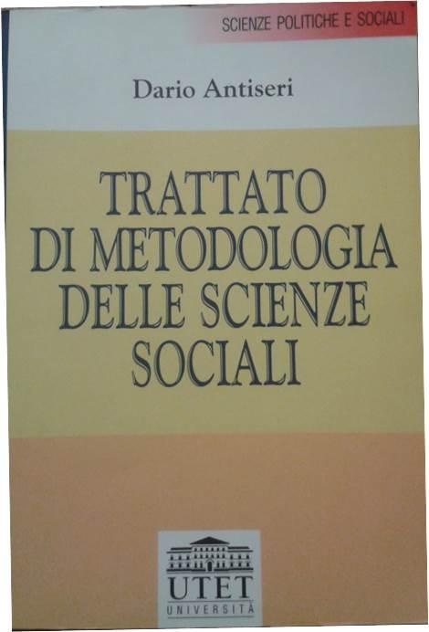 Trattato di metodologia delle scienze sociali