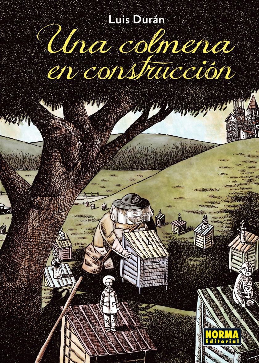 Una colmena en construcción