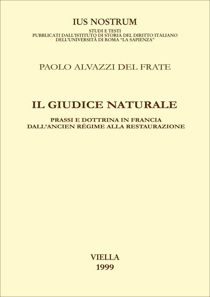 Il giudice naturale