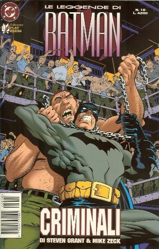 Le Leggende di Batman n. 10