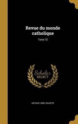 FRE-REVUE DU MONDE CATHOLIQUE