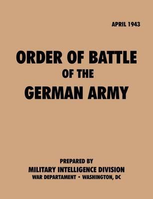 OrderofBattleof theGermanArmy, April1943