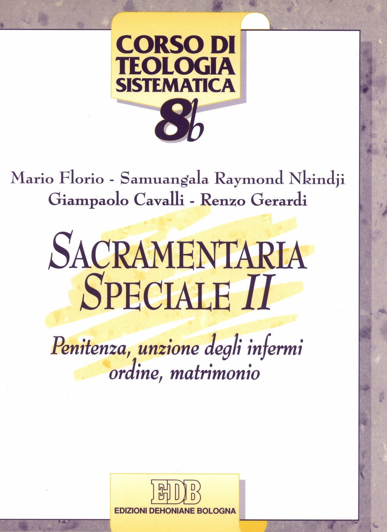 Sacramentaria speciale vol. II