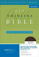 New International Version Thinline Holy Bible
