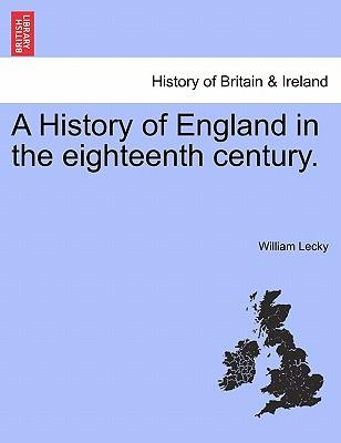 A History of England in the eighteenth century, vol. V, second edition