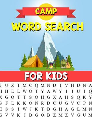 Camp Word Search For Kids