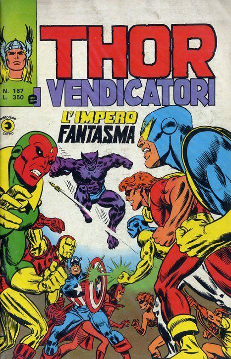 Thor e i Vendicatori (Il Mitico Thor) n. 167