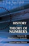 History of the Theory of Numbers, Volume ll