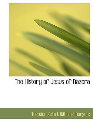 The History of Jesus of Nazara