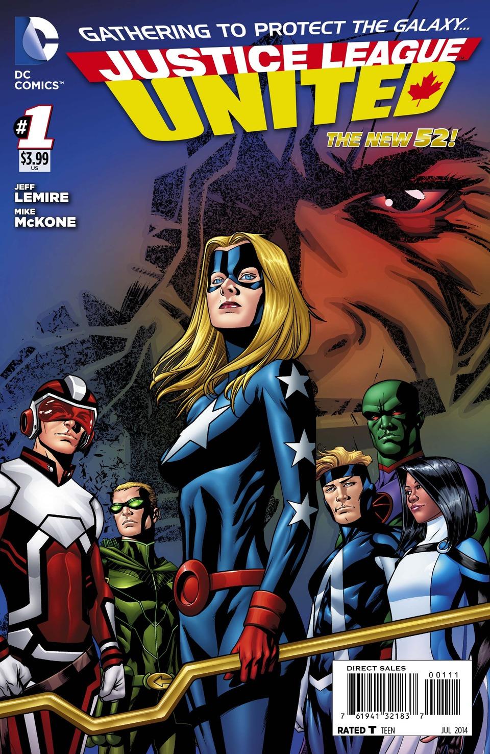 Justice League United Vol.1 #1
