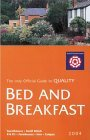 Bed & Breakfast Guest Accommodation in England 2004