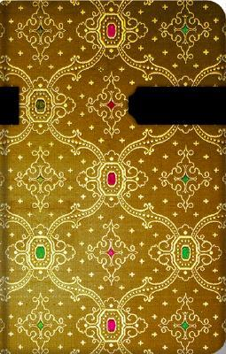 French Ornate Cuivre Mini Address Book