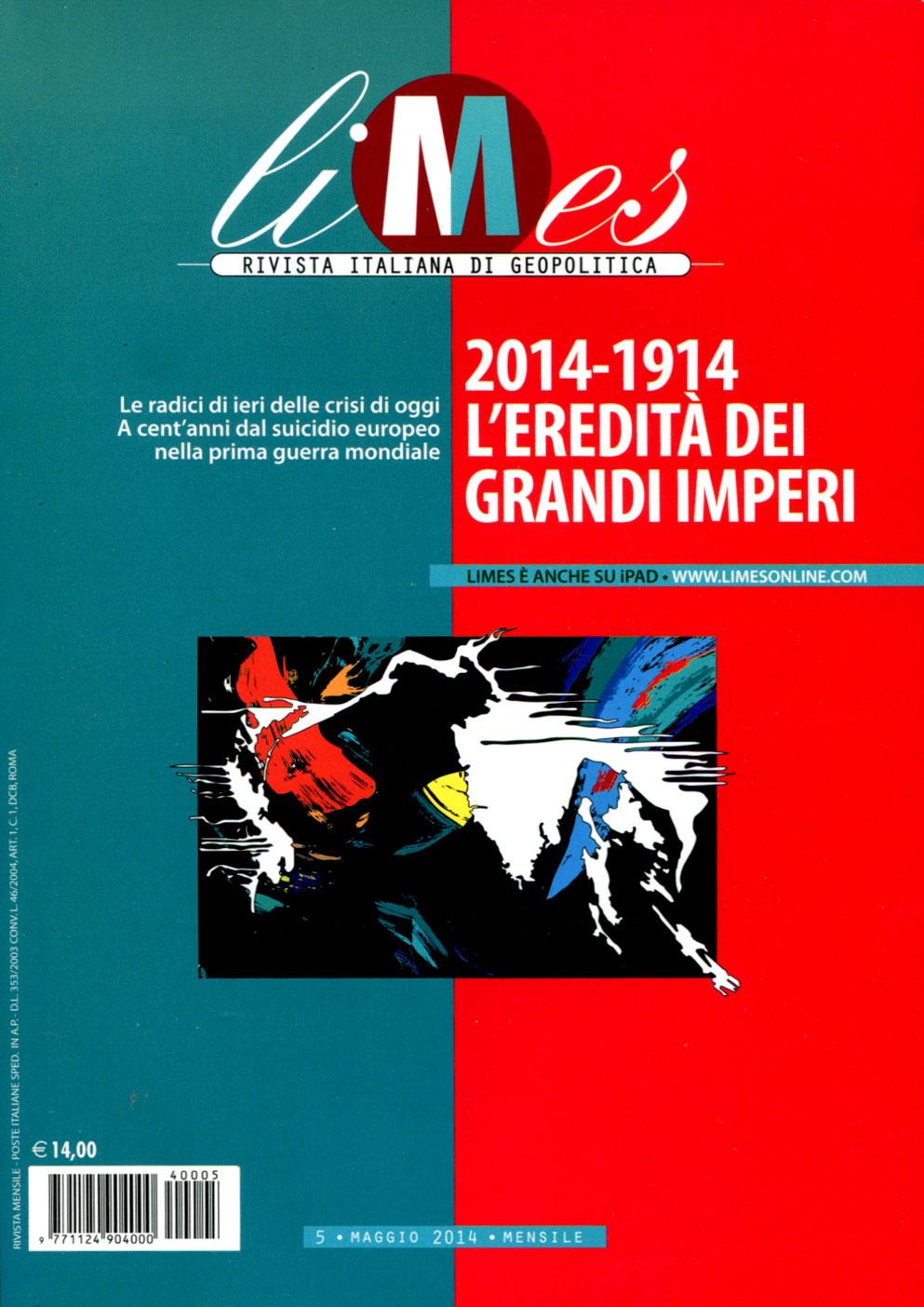 Limes - Rivista italiana di geopolitica - n. 5/2014
