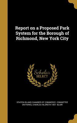 REPORT ON A PROPOSED PARK SYST