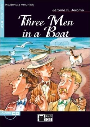 Three men in a boat. Con audiolibro. CD Audio