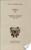 Periodismo y literatura artículos ensayos (1877-1894)
