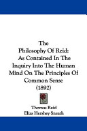 The Philosophy of Reid