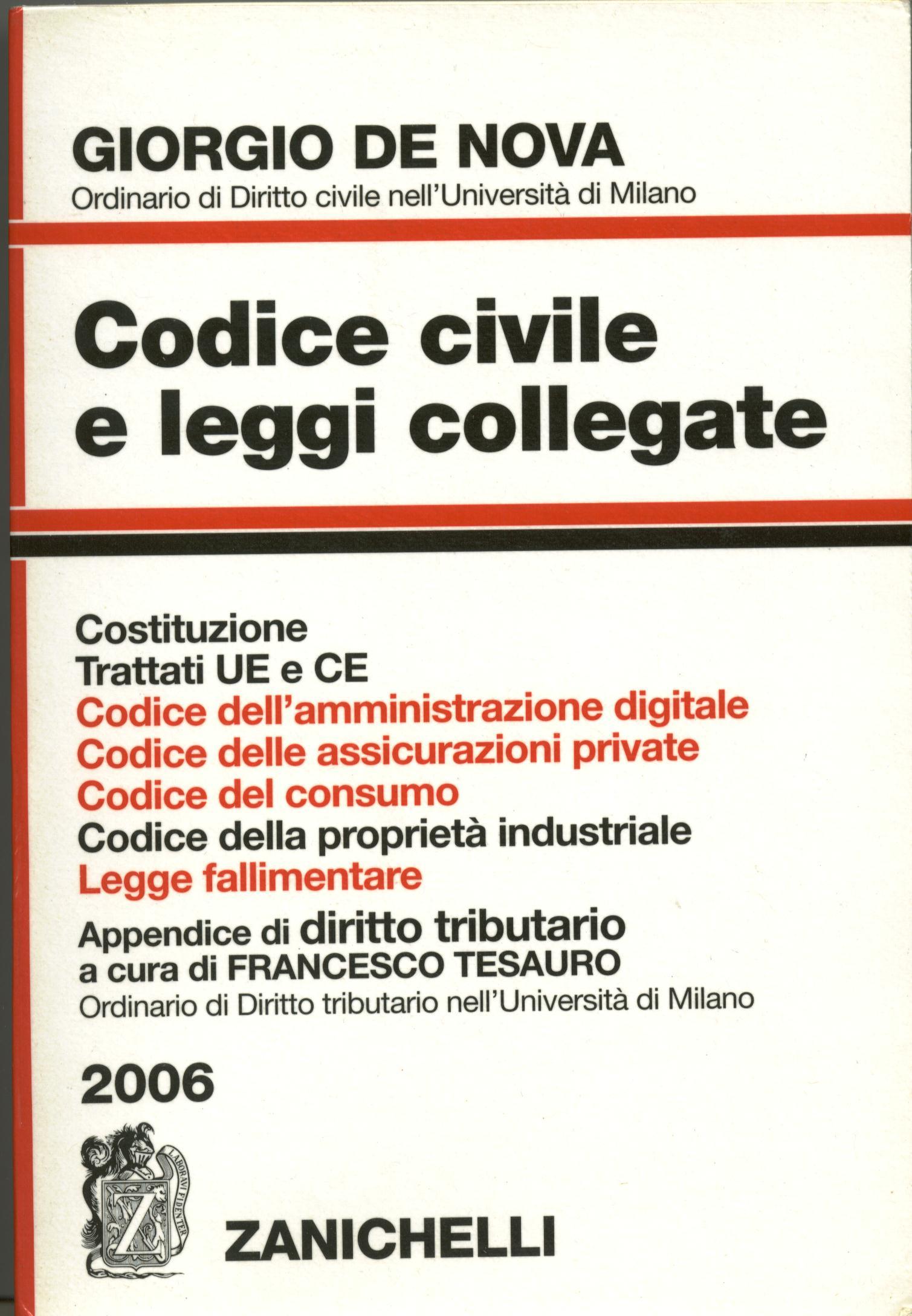 Codice civile e legg...
