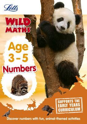 Maths ― Numbers Age 3-5 (Letts Wild About)