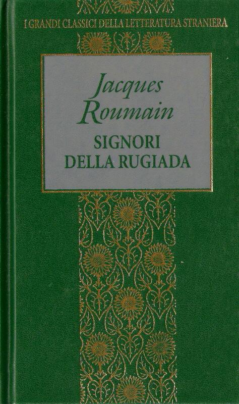 Risultati immagini per signori della rugiada jacques roumain