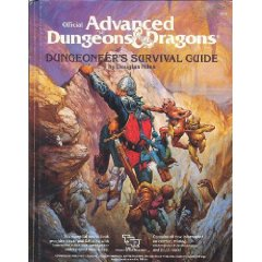 Advanced dungeons and dragons - dungeoneer's survival guide