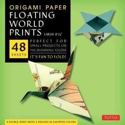 Origami Paper Floating World Prints, Large 8 1/4