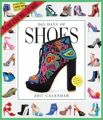 365 Days of Shoes 2017 Calendar