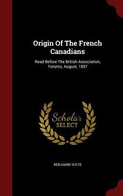 Origin of the French Canadians