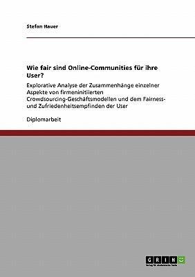 Wie fair sind Online-Communities für ihre User?