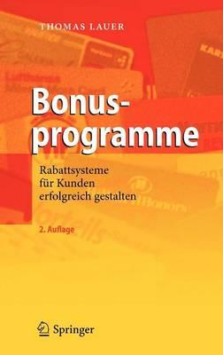 Bonusprogramme