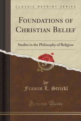 Foundations of Christian Belief
