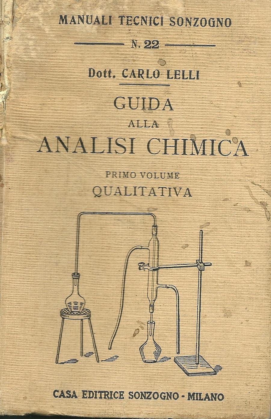 Guida all'analisi chimica qualitativa