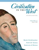 Civilization in the West, Since 1789