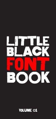 Little Black Font Book, Vol. 1